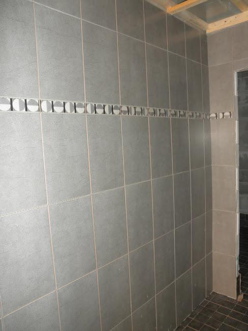 Suihkuhuoneen seinä