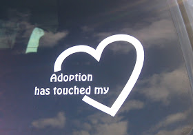 Adoption Decal