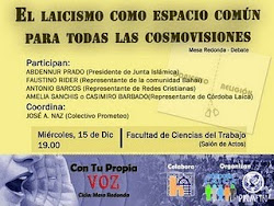 Conferencia  Laicismo