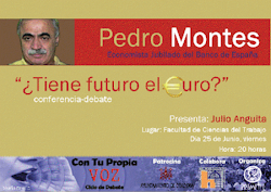 Conferencia Pedro Montes