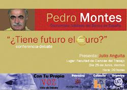 Conferencia Pedro Montes