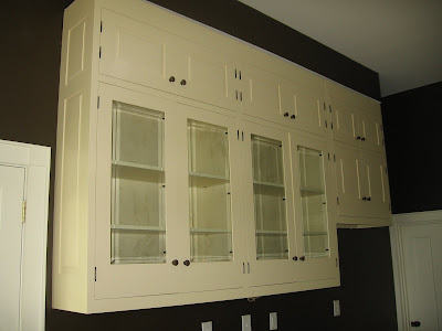Glass Kitchen Cabinet Doors on At Laughing Fox Farm In Middle Tennessee  Kitchen Cabinets Have Doors