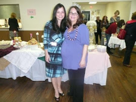 Lisa and me at family shower