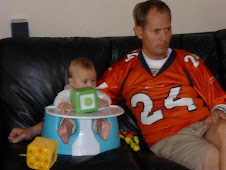 Football Sunday - hanging out with Dad