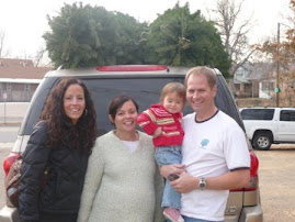 On my due date...getting our tree, an annual tradition with Jamie
