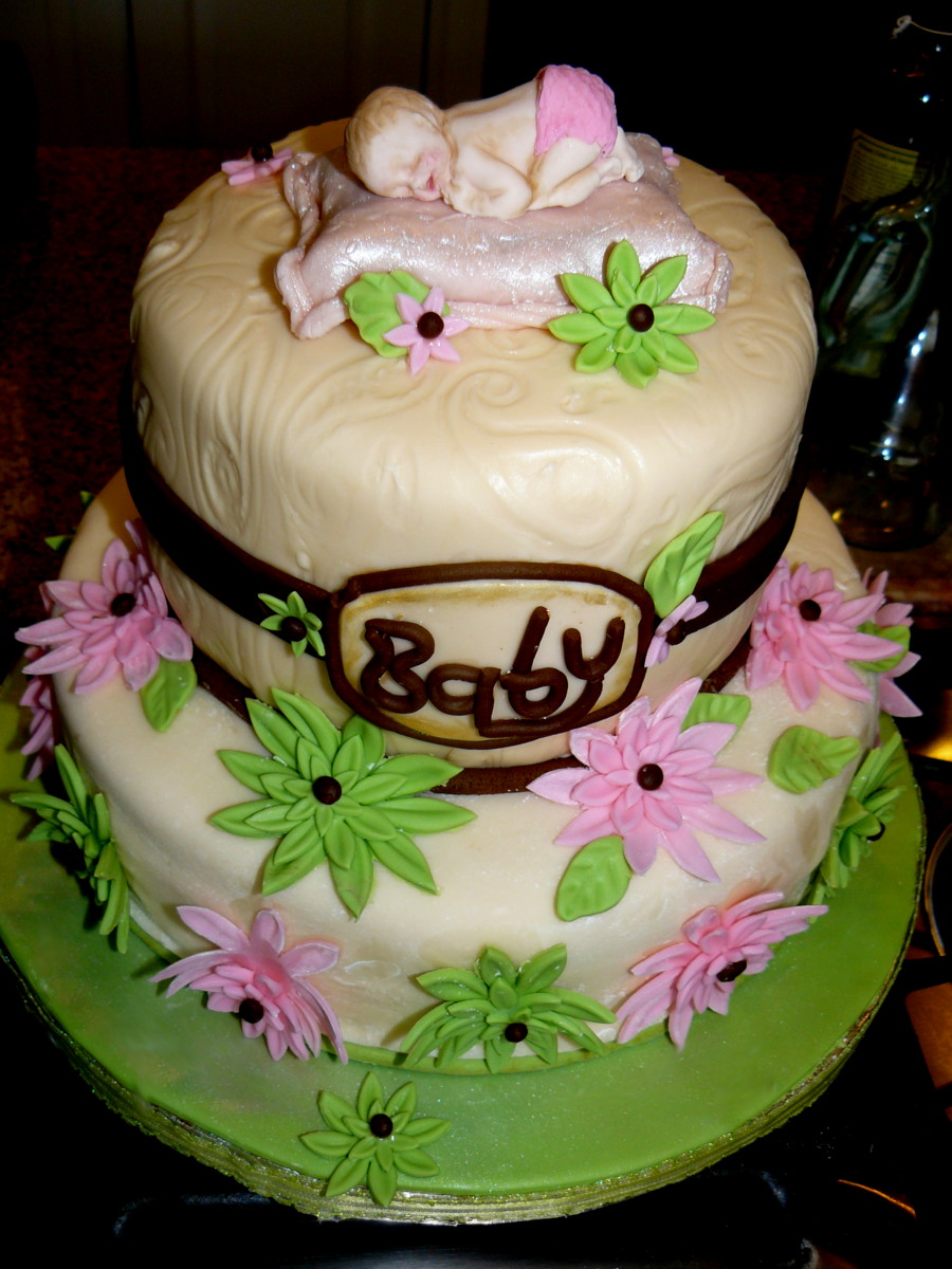 Baby Shower Sheet Cakes for Girls