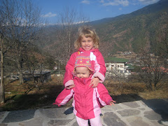 Catherine and Caroline in Bhutan