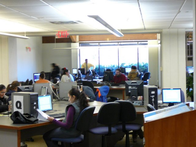 Bankier Library Info Commons