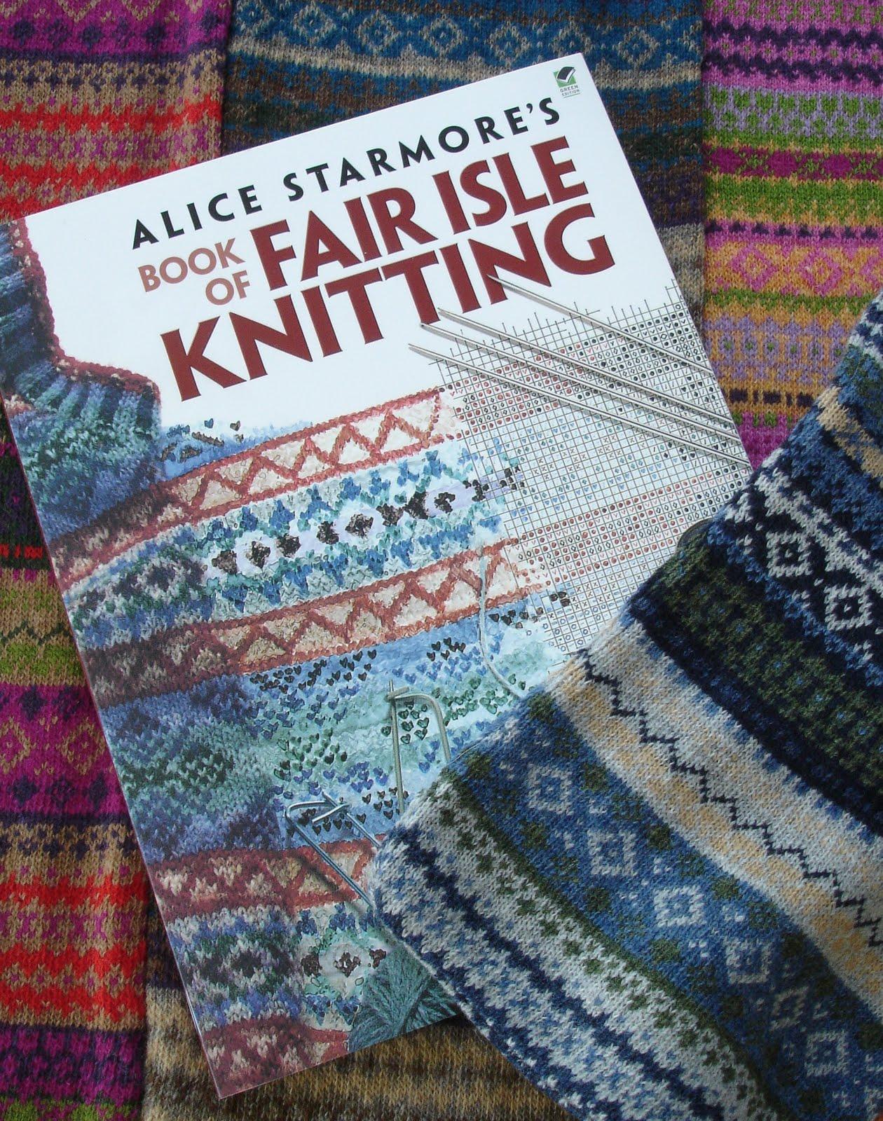 Knitting History Books : The flitter knitter falling for fair isle