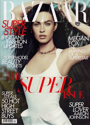 Megan Fox Harper's Bazaar UK April 2010