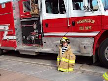 Firefighter Tyler Woolley