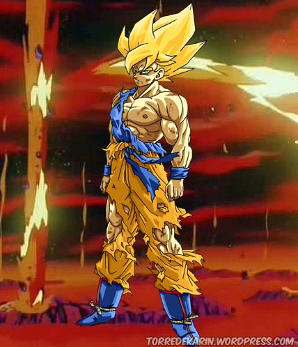 dragon ball z goku super saiyan 1
