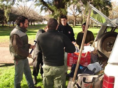 Hallazgo de restos fósiles en Virrey del Pino