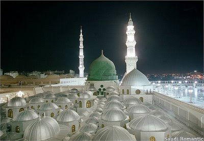 Kubah-Kubah Masjid Nabawi