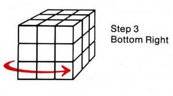 how to solve rubix cube with one side already done