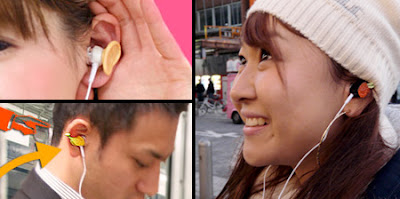 Creative  Earphone from Japan Seen On www.coolpicturegallery.us