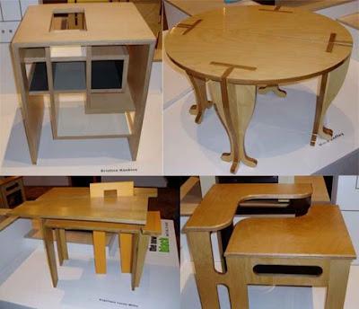 New Furniture More Creative Furniture For Cramped Urban