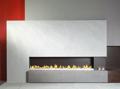 Modern Design Gas Fireplaces Ideas