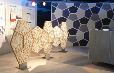Wood Carving-Inspired Acoustic Walls
