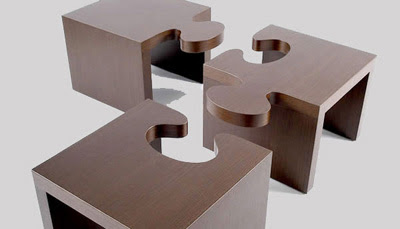 Puzzle Table Furniture Design