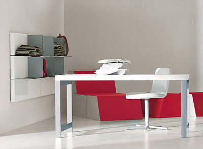 Domino Working Desk and Forma Suspended Desk New Furniture Design