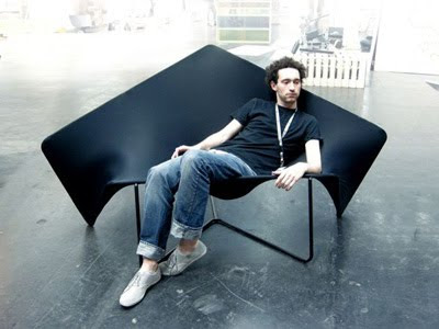 The Simply-Structured Tensile Sofa