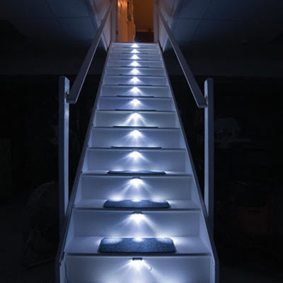 Light Up Your House Stairway