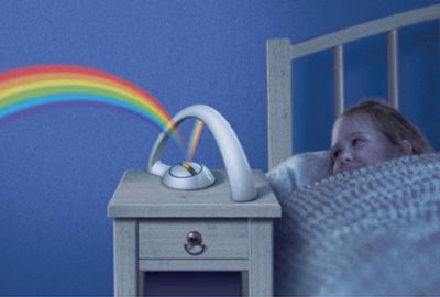 Put a Rainbow Right Inside your Bedroom
