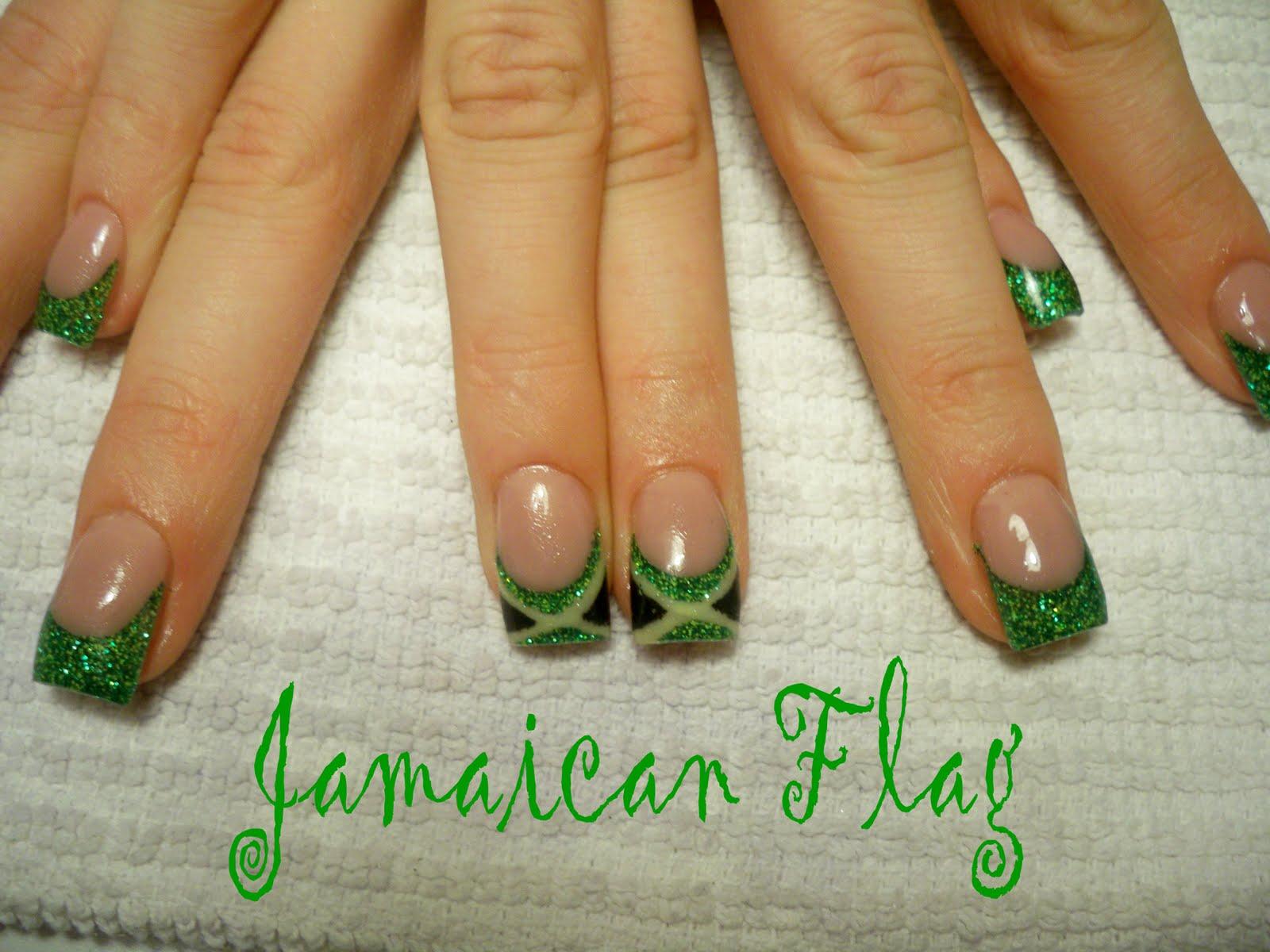 Jamaican Nail Art Design Rasta Rastaman Cake Ideas And Designs
