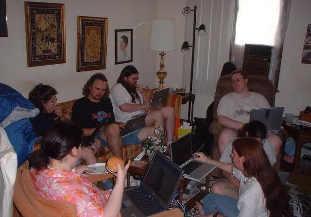 Blogueiros fazem festa de arromba...