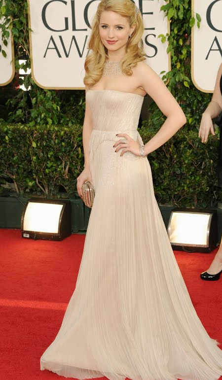 dianna agron at the 2011 golden globes dianna agron golden globes,
