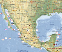 "Map Mexican ""IOTAS"""