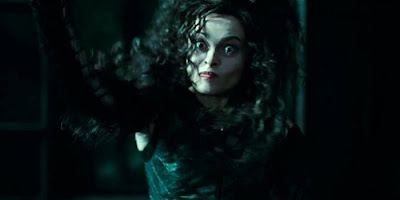 Belatrix em Harry Potter e As Relíquias da Morte - parte 1