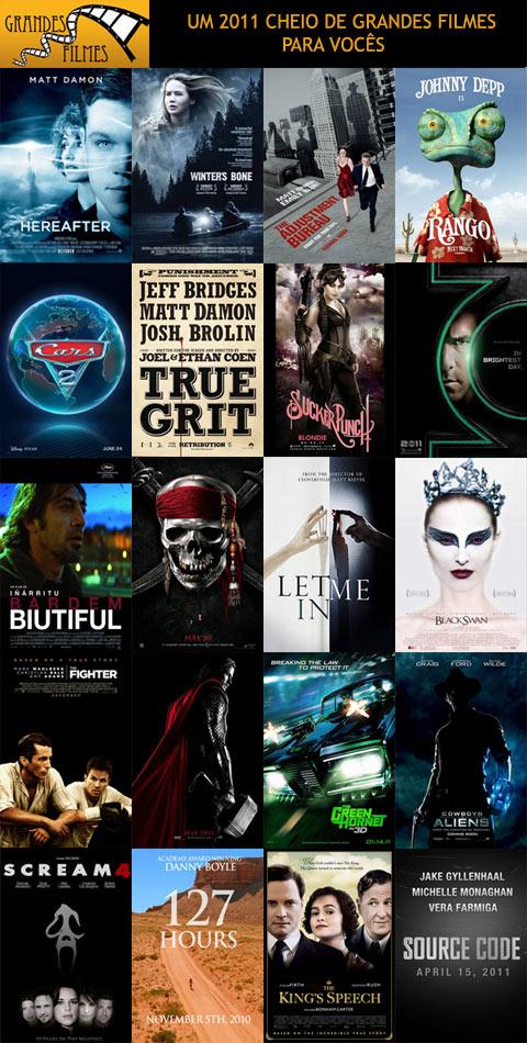 Um 2001 cheio de grandes filmes para vocês