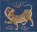 Bandera de la Republica de Taiwan -1895
