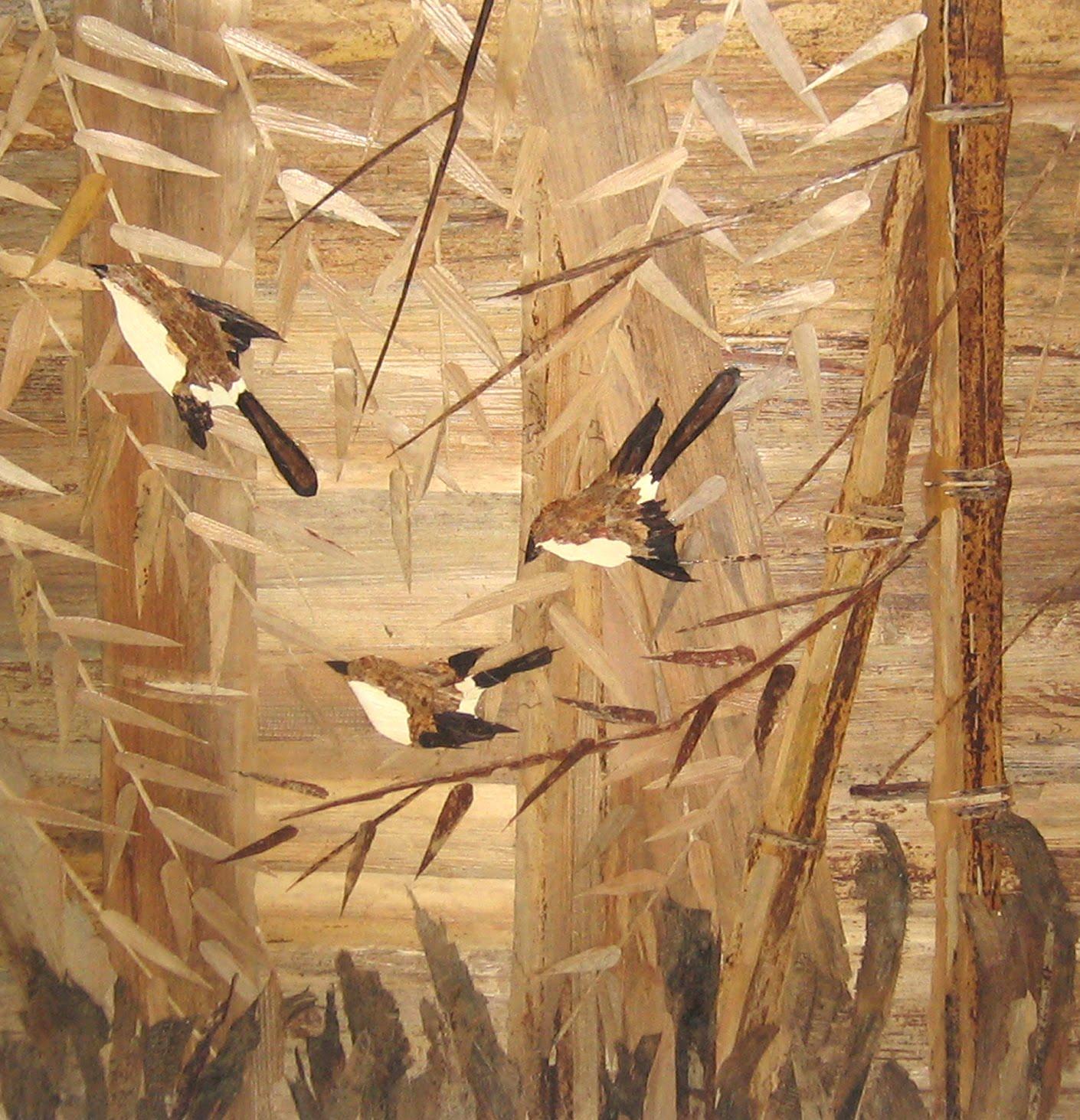 Lukisan Pelepah Pisang Unik Dan Bernilai Seni Tinggi