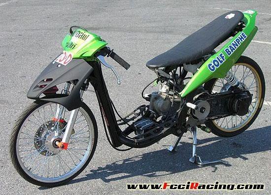 dari ke2 motor ini motor mana yang cocok untuk drag sesuai biaya yang