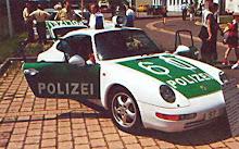 Carro polícia Alemanha