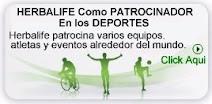 HERBALIFE - Patrocinador de Deportes