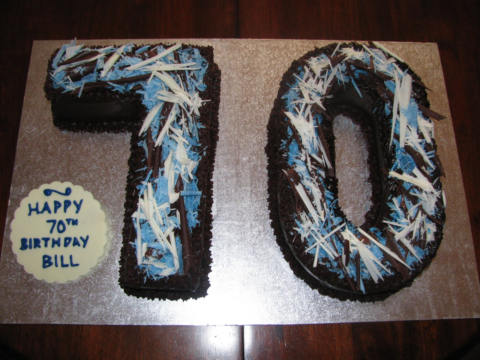 70Th Birthday Cakes for Men http://kristyskakes.blogspot.com/