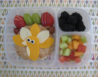 Thanksgiving Turkey Bento EasyLunchboxes
