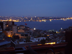 Night view of the Bosphorus