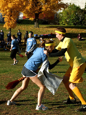 Acorn Pies: How to Play Muggle Quidditch