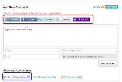 Disqus comments layout opyions