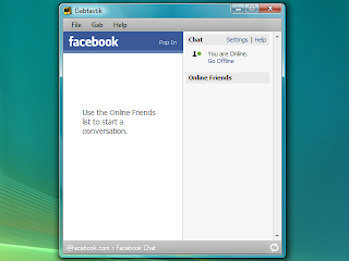 connect facebook and google chat
