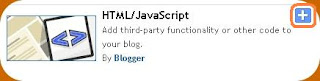 add html javascript blogger