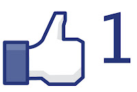 facebook like button blogger