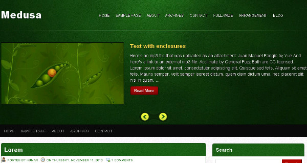 Best Green Blogger Templates