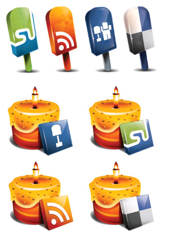 Best Free Food Social Icons