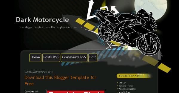 Best automobile Blogger Templates